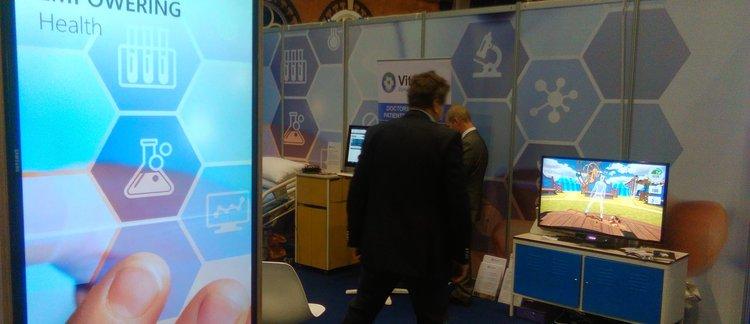 En el Care Innovation Expo del Sistema Nacional de Salud como partner de Microsoft