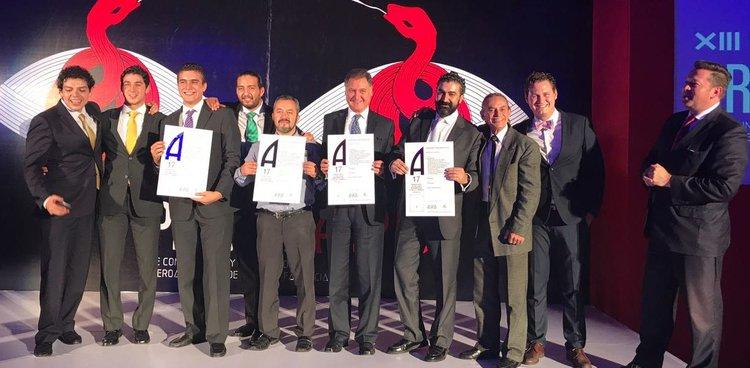 VirtualRehab recibe 3 premios ASPID Ibero-America