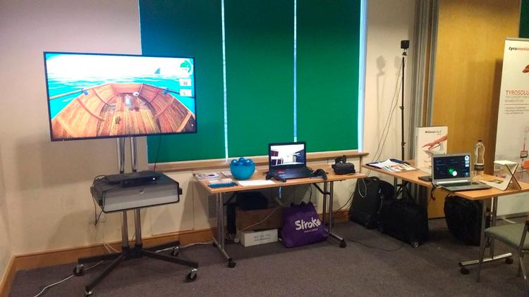 VirtualRehab en el Upper Limb Course 2018 en UCL Queen Square