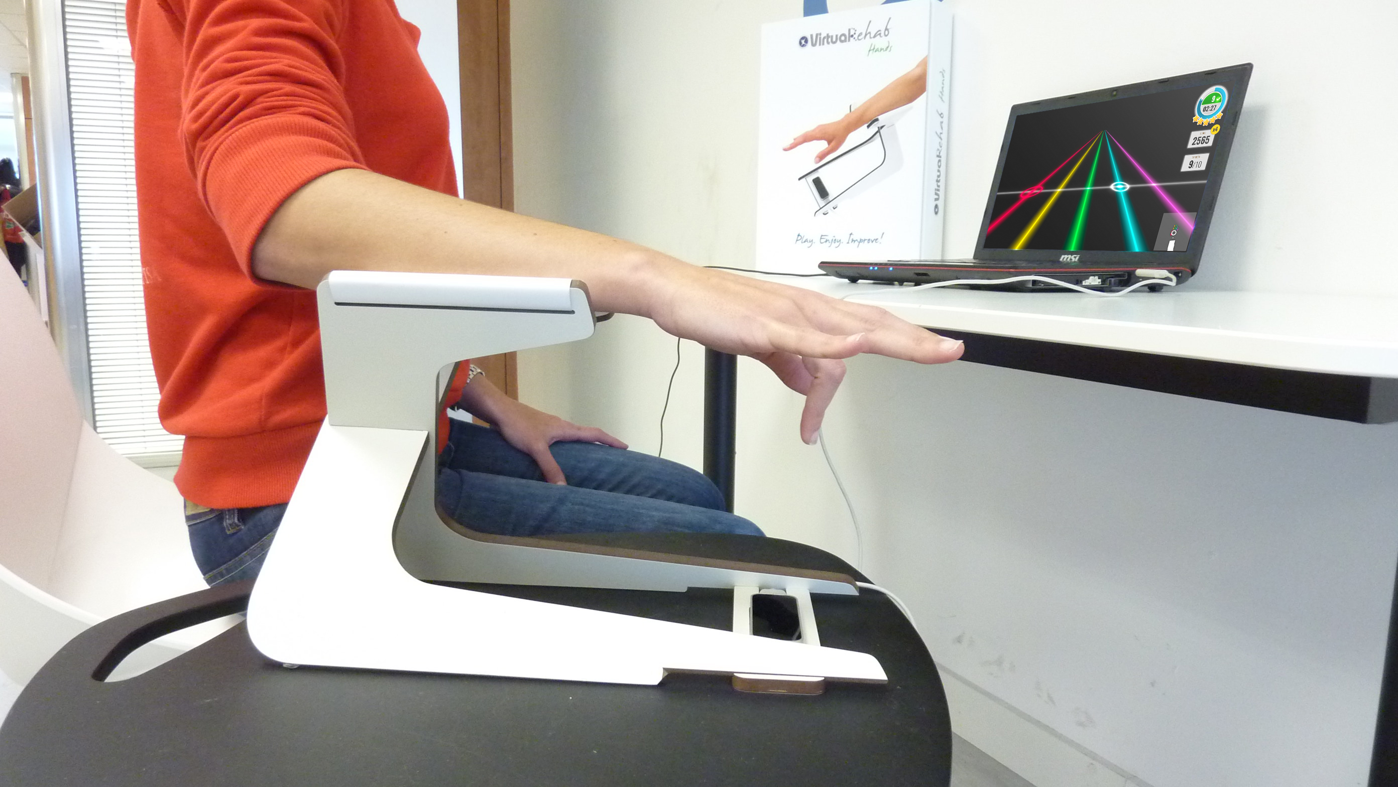 Virtualrehab hands