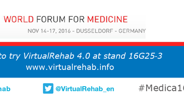 VirtualRehab at Medica 2016