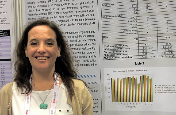 Positive results from INEBA study using VirtualRehab to treat Multiple Sclerosis presented at ECTRIMS 2019