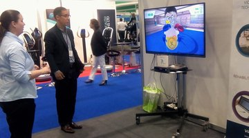 Preview of latest version of VirtualRehab at the Neurological Rehabilitation Expo