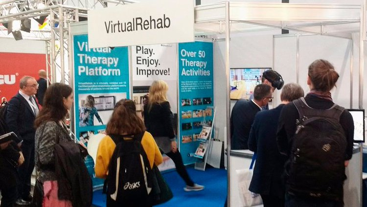 VirtualRehab 4.0 debuts at Medica
