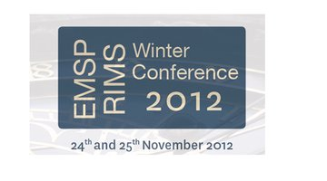 Virtualrehab presented at EMSP Winter Conference in Prague